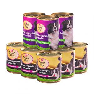 Мясные консервы для собак